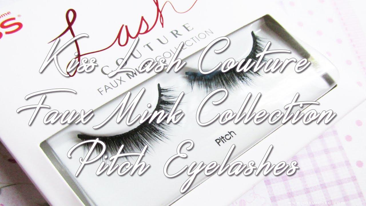 a38d81200a7 Kiss Lash Couture Faux Mink Collection Pitch Review