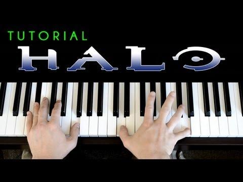 Halo 3 - Finish The Fight (piano tutorial & cover) Trailer