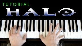 Halo 3 - Finish The Fight (piano tutorial & cover) Trailer