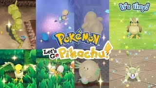 Top 10 *UNWANTED* Shiny Reactions in Pokemon Let's GO Pikachu! Shiny Chansey, Onix, Ditto AND MORE!