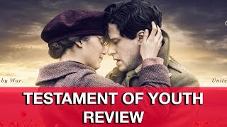 Testament of Youth Movie Review - Alicia Vikander, Kit Harington, Colin Morgan