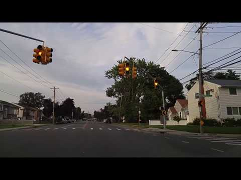 Driving from North Bellmore to East Meadow in Nassau,New York