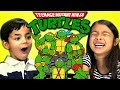 Kids React to Teenage Mutant Ninja Turtl