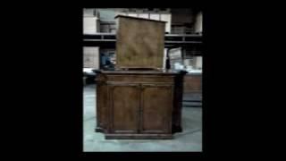 Hillside Furniture Co. Pop Up TV Cabinet