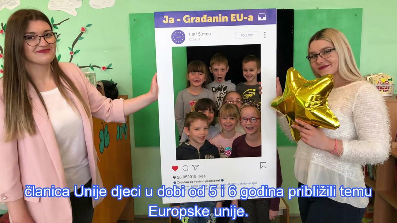 Ja građanin EU 2018 /19  - MEU tim 15