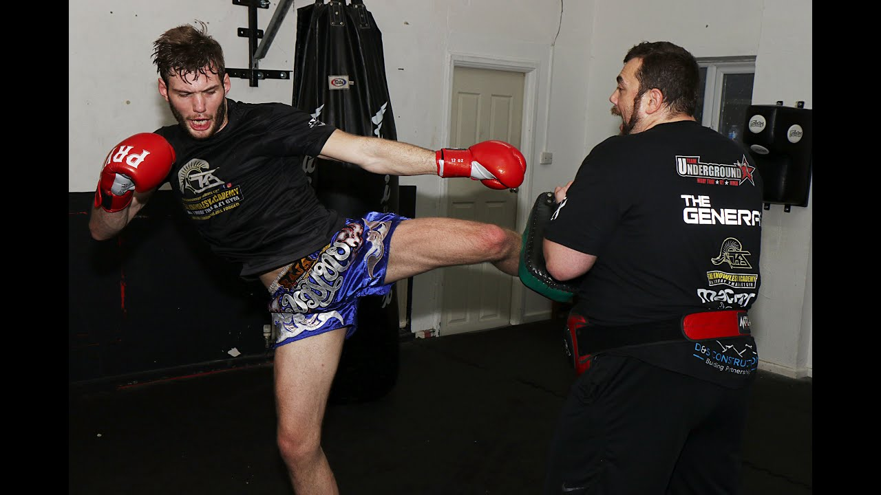 Muay Thai - Working Kicks to both Attack and Defend with Christian Knowles
