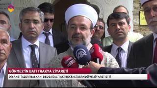 Başkan Görmez Bektaşi Derneğini Ziyaret Etti - TRT DİYANET 2017 Video