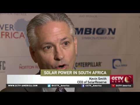 US firms aid South Africa to ramp up solar capacity