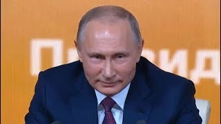 Мужик обманул Путина на пресс-конференции 2017