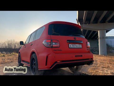 Tuning Nissan Patrol(Y62)Nismo RED #SUPERAUTOTUNING!!!!!!!!!!!!!!