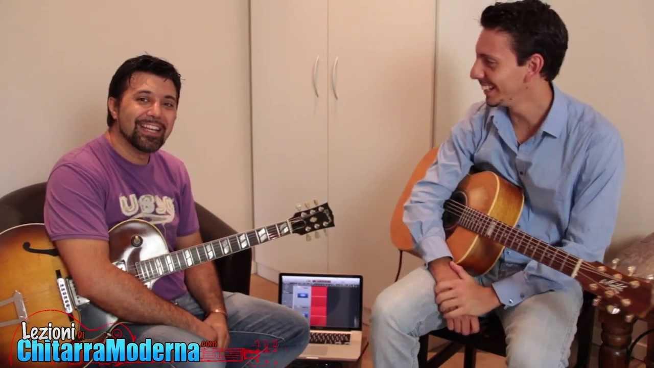 lezioni di chitarra moderna intervista andrea valeri