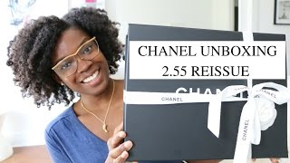 Chanel Unboxing | 2.55 Chevron Reissue 226 Bag Reveal + Review