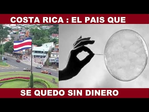 COSTA RICA : UN PARAÍSO EN QUIEBRA