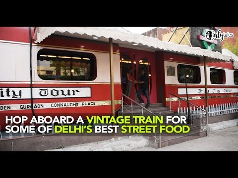 Hop Onto This Train Themed Restaurant - Imly, In Delhi | Curly Tales