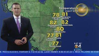 CBSMiami.com Weather 7/18 6AM
