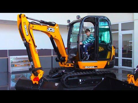 Экскаватор и Трактор | Обзор строительной техники | Видео для детей | Tiki Taki Boys