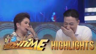 It's Showtime: Ryan Bang accidentally hits Tyang Amy
