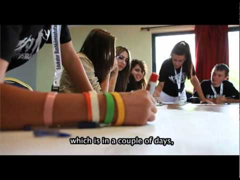 World Vision Youth conference - Children from Albania & Kosovo