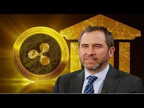 Ripple CEO!  Banks Will Hold Crypto Assets Like XRP on Behalf of Their Customers in 2019