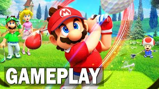 Mario golf super rush : gameplay nintendo switch officiel (2021)