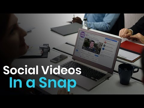Video Marketing Builder - Free Social Video Maker
