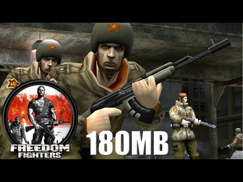 (180MB) How To Download & Install Freedom Fighters Game on PC Just in 180MB 100% Working With Proof