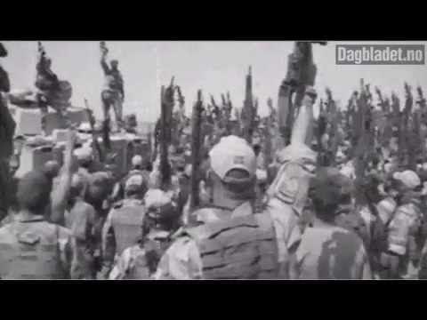 Norwegian Soldiers War Cry In Afghanistan - \