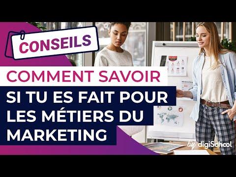Comment savoir si tu es fait pour les métiers du marketing ?