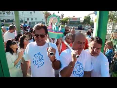 JAI GANESH Silver Anniversary Celebration  of Ganpati in Las PalmasS 2015