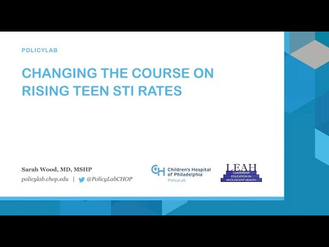 Changing the Course on Rising Teen STI Rates