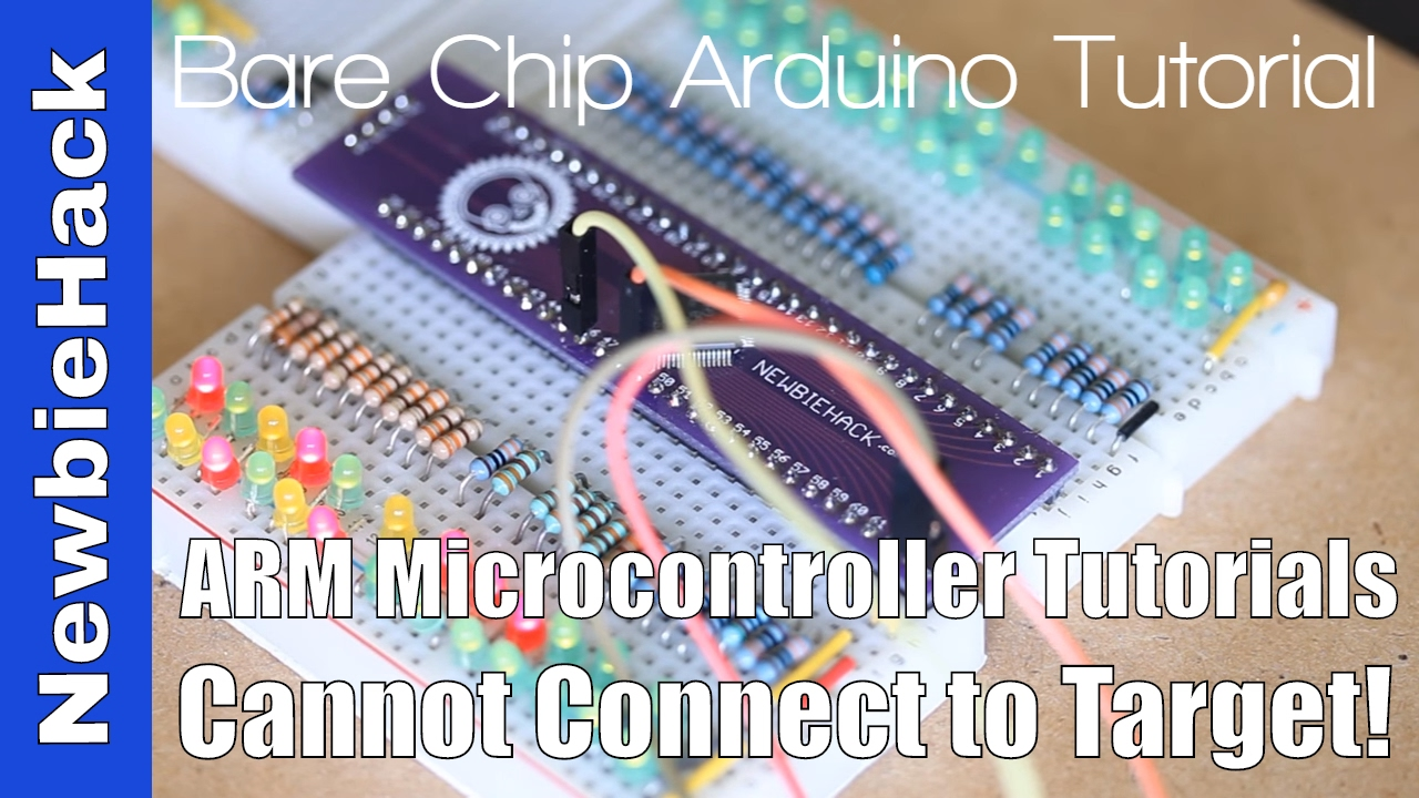 9  How to Resolve Can not connect to target for the STM32 and ST-Link
