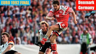 EURO 1992 Final Denmark vs Germany Highlights
