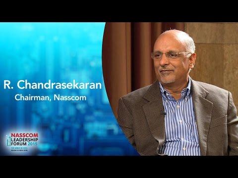 R  Chandrasekaran, Chairman, NASSCOM