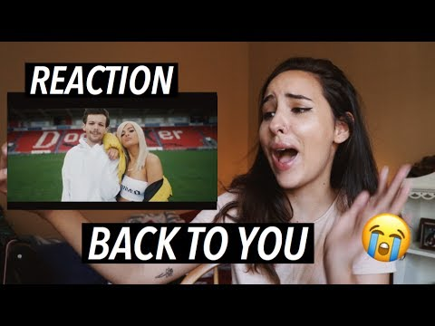 REACTION TO BACK TO YOU by LOUIS TOMLINSON