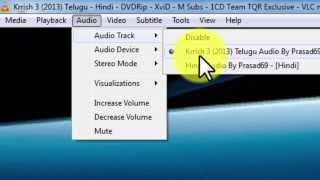 How to Add or Remove or move Dual Audios in dual audio Movies