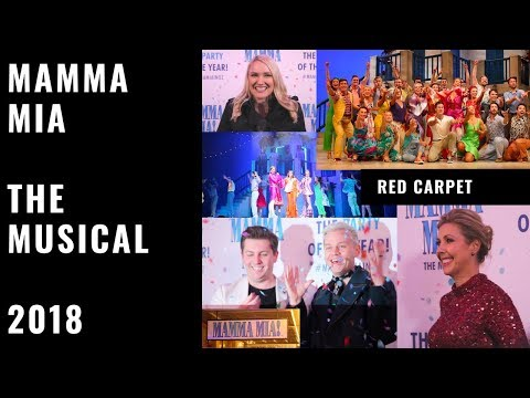 OPENING NIGHT: Mamma Mia the Musical 2018 in Melbourne