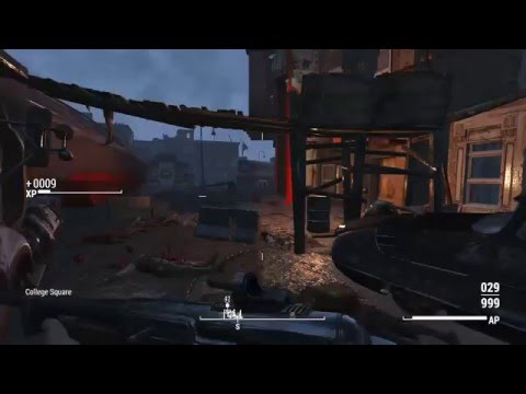 Fallout 4 - Cleaning up college square