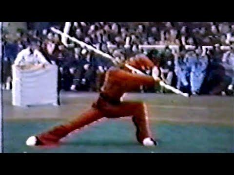 【武術】1984 女子棍術 / 【Wushu】1984 Women Gunshu