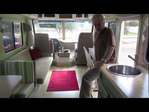 Elegant Motorhome remodel the finished project