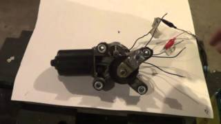 Dead Things Vlog - Windshield Wiper Motor Wiring