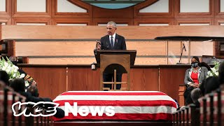 The Best of Barack Obama's Eulogy for John Lewis