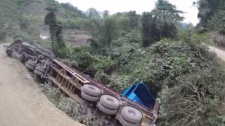 เส้นทางรถจากเมือง ซำเหนือ ลาว ไป  ฮานอย เวียดนาม  # bus from Laos to Vietnam #