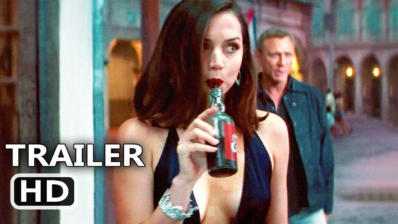 NO TIME TO DIE Trailer # 3 (New 2020) James Bond Movie, Ana De Armas