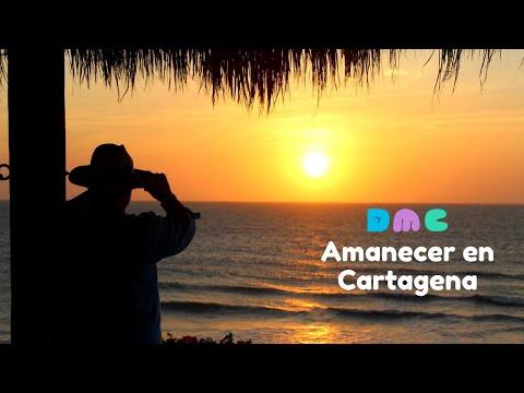 Amanecer en Cartagena