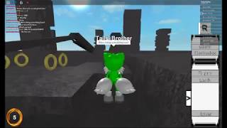 Hard parkour in Sonic Roblox