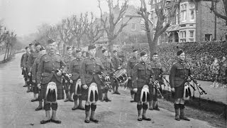 First World War Stories: Pipe-Major Alexander