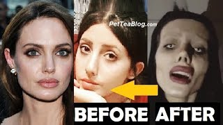 B4 Pictures of 19 yr old Angelina Jolie Wannabe 😳👀