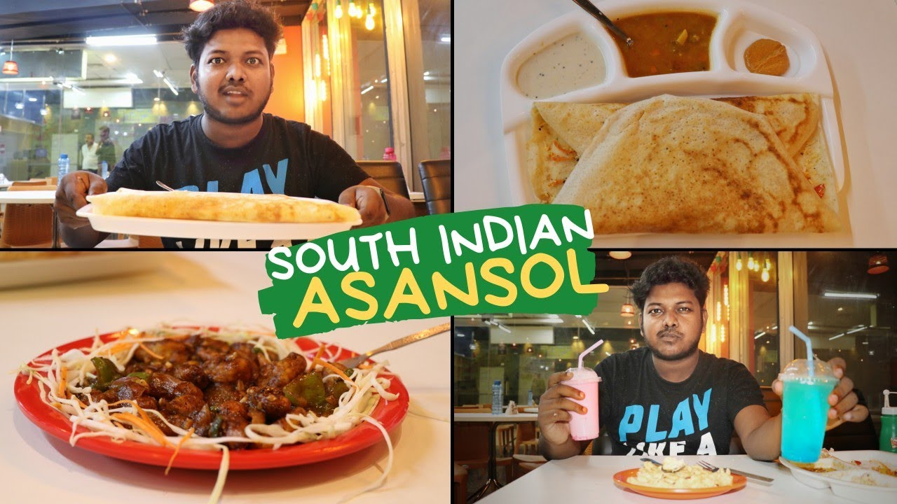 South Indian Food Asansol One Of The Best Dosa In Asansol Park Cafe Asansol Sentrum Mall Youtube