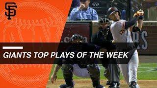 Giants Top Plays of the Week