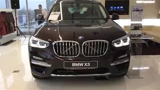 Обзор нового BMW X3 2018 года в России